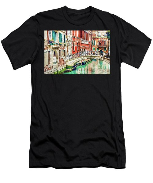 Lost In Venice Men's T-Shirt (Athletic Fit)