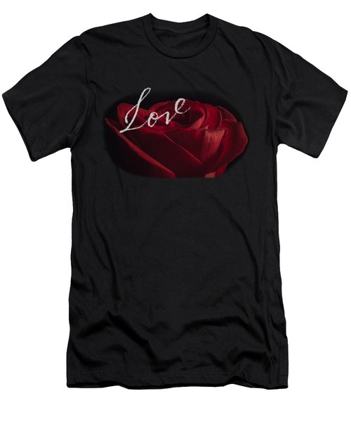 Love Rose Men's T-Shirt (Athletic Fit)