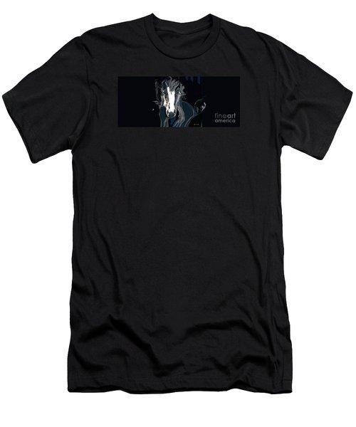 Lungta Windhorse No. 2-energy Men's T-Shirt (Athletic Fit)