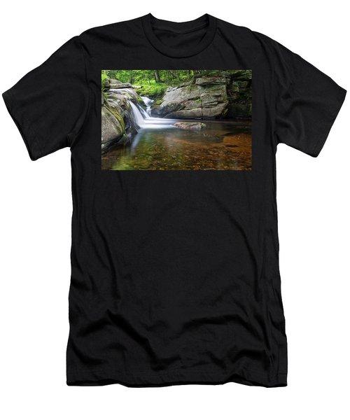 Mad River Falls Men's T-Shirt (Athletic Fit)