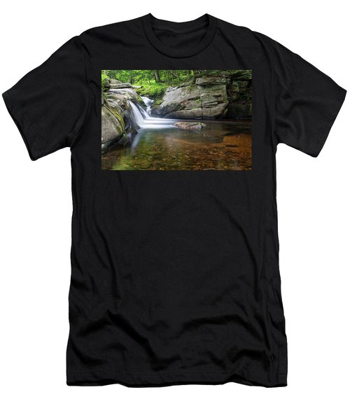 Mad River Falls Men's T-Shirt (Athletic Fit)