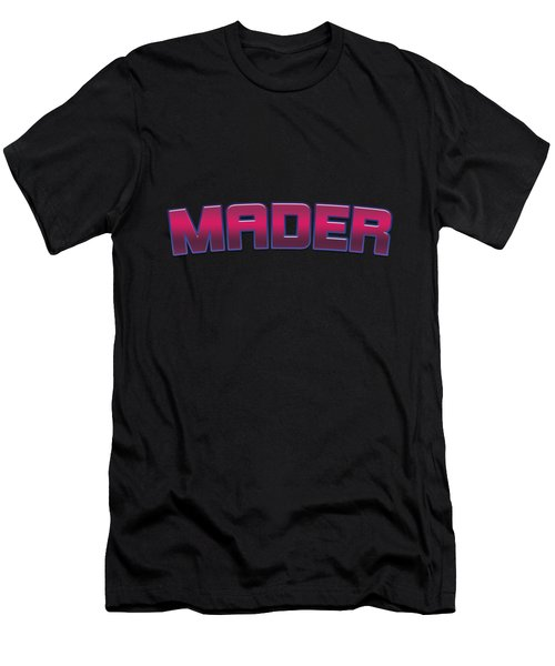 Mader #mader Men's T-Shirt (Athletic Fit)