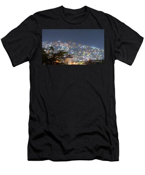 Magic Of Zihuatanejo Bay Men's T-Shirt (Athletic Fit)