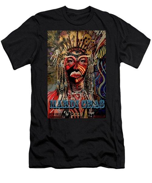 Mardi Gras 2019 Men's T-Shirt (Athletic Fit)