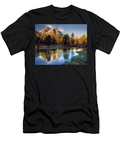 Mcgown Peak Sunrise  Men's T-Shirt (Athletic Fit)