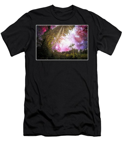 Meadow Starry Night Men's T-Shirt (Athletic Fit)