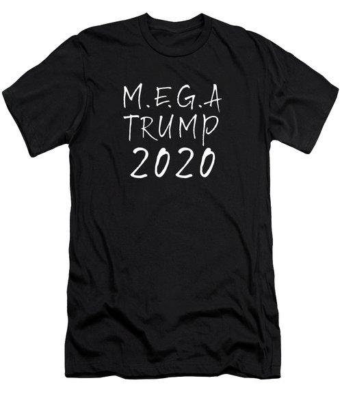M.e.g.a Trump 2020 Men's T-Shirt (Athletic Fit)