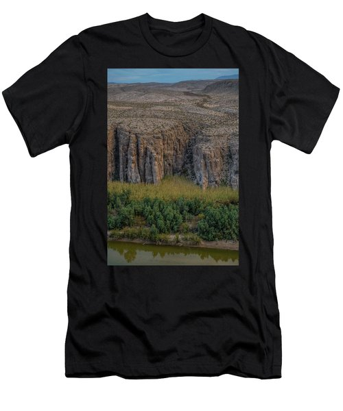 Mexican Box Canyon Men's T-Shirt (Athletic Fit)