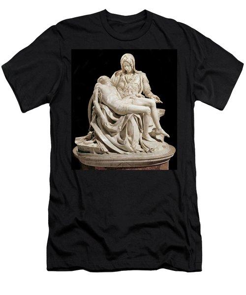 Michelangelo La Pieta Men's T-Shirt (Athletic Fit)
