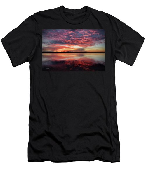 Mid October Sunset Men's T-Shirt (Athletic Fit)