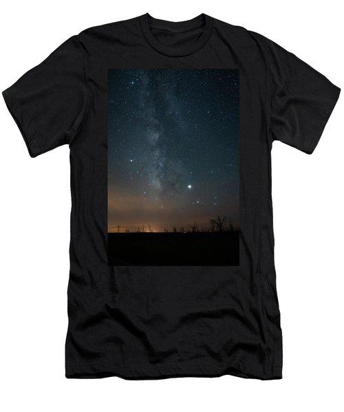 Milky Mesa Men's T-Shirt (Athletic Fit)