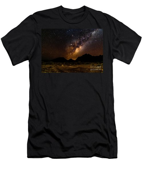 Milkyway Over Spitzkoppe 2, Namibia Men's T-Shirt (Athletic Fit)