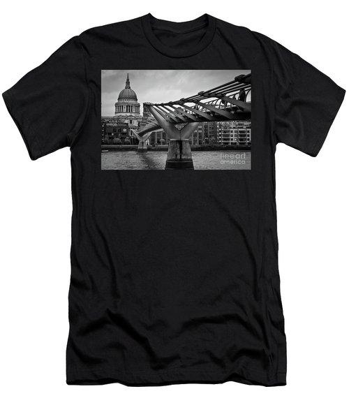 Millennium Bridge 01 Men's T-Shirt (Athletic Fit)