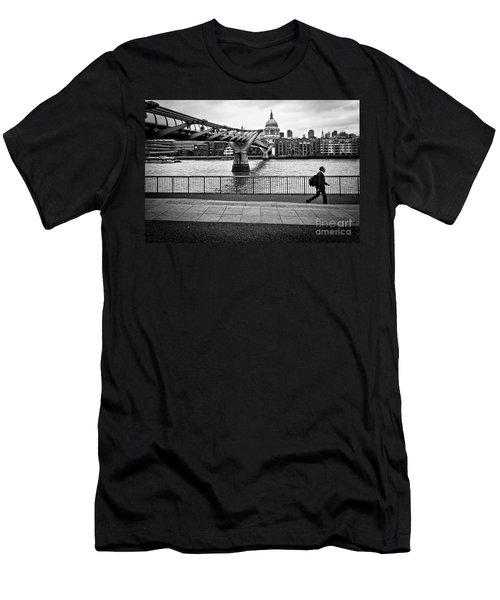 millennium Bridge 02 Men's T-Shirt (Athletic Fit)