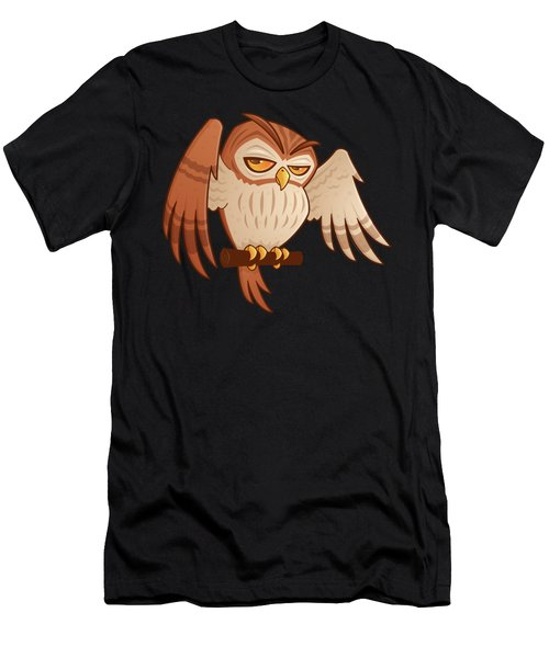 Mister Owley Men's T-Shirt (Athletic Fit)