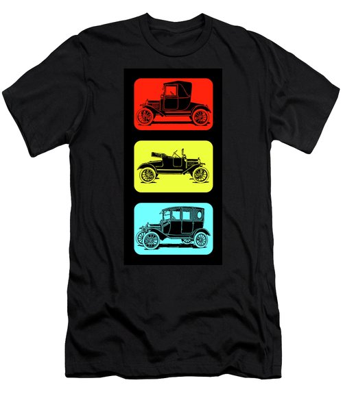 Model T Ford Triple Men's T-Shirt (Athletic Fit)