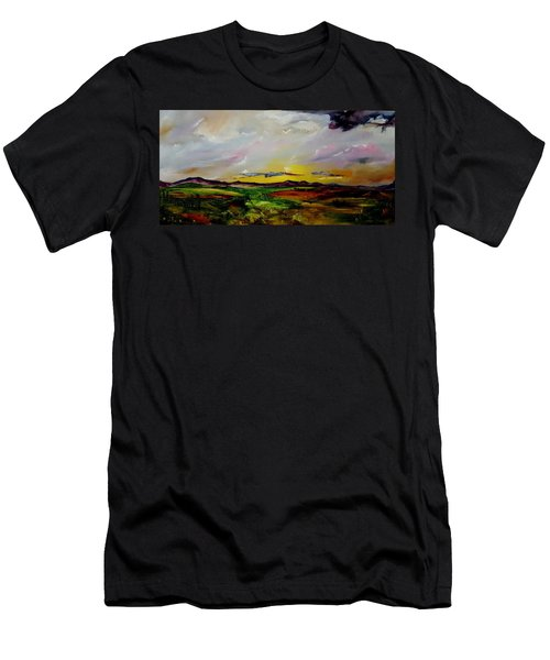 Montana Summer Storms        5519 Men's T-Shirt (Athletic Fit)