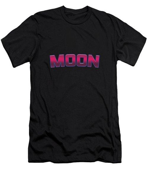 Moon #moon Men's T-Shirt (Athletic Fit)