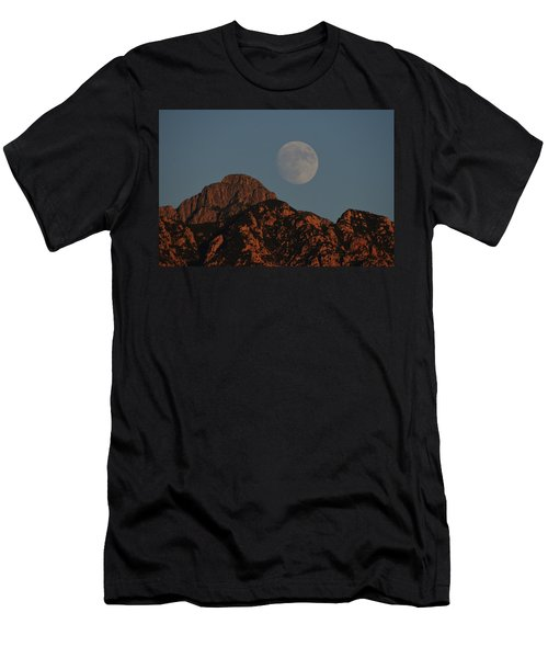 Moon Rise Over Mount Wrightson  Men's T-Shirt (Athletic Fit)