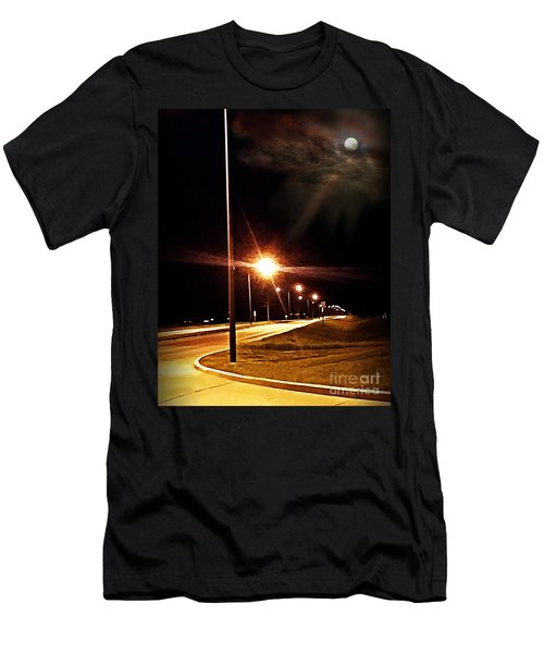 Moonlight Walk Men's T-Shirt (Athletic Fit)