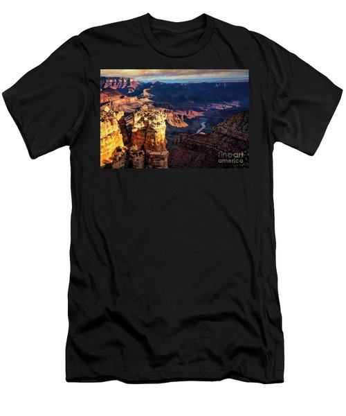 Men's T-Shirt (Athletic Fit) featuring the photograph Moran Point 3 by Scott Kemper