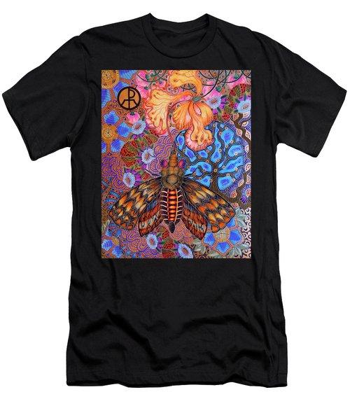Moth Men's T-Shirt (Athletic Fit)