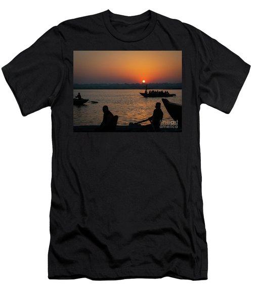 Mother Ganges Men's T-Shirt (Athletic Fit)