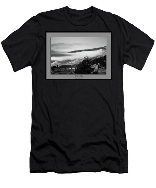 Men's T-Shirt (Athletic Fit) featuring the photograph Mountain Mist by Pete Federico