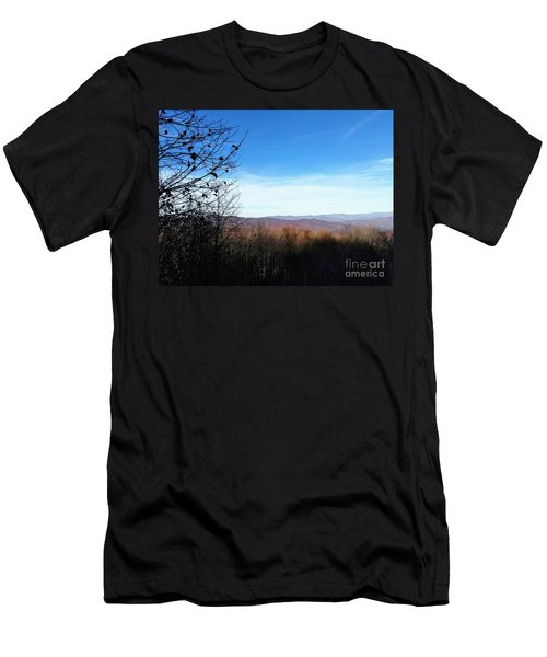 Men's T-Shirt (Athletic Fit) featuring the photograph Mountains For Miles by Rachel Hannah