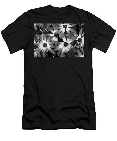 Multiple Daisies Flowers Men's T-Shirt (Athletic Fit)