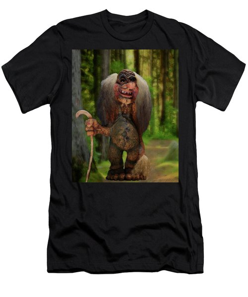 My Hiking Buddy Men's T-Shirt (Athletic Fit)