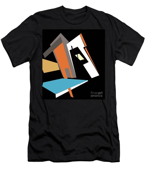 My World In Abstraction Men's T-Shirt (Athletic Fit)