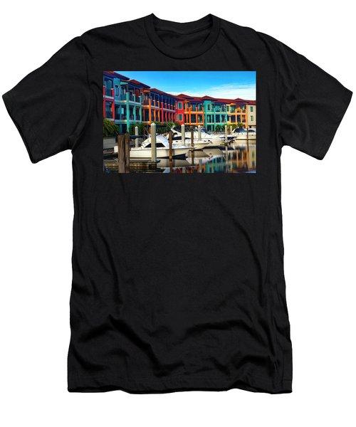 Naples Florida Series 9199 Men's T-Shirt (Athletic Fit)