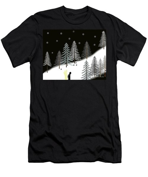 Never Alone Men's T-Shirt (Athletic Fit)
