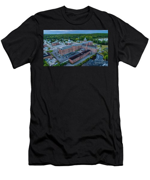 Men's T-Shirt (Athletic Fit) featuring the photograph New Life For An Old Mill by Michael Hughes