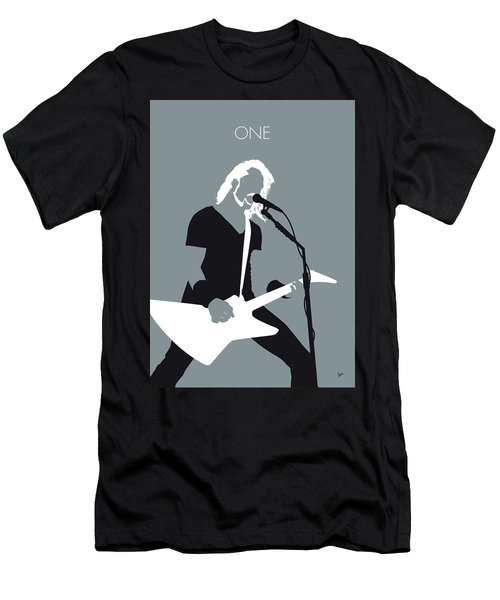No257 My Metallica Minimal Music Poster Men's T-Shirt (Athletic Fit)