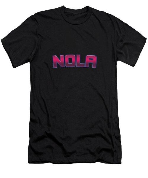 Nola #nola Men's T-Shirt (Athletic Fit)