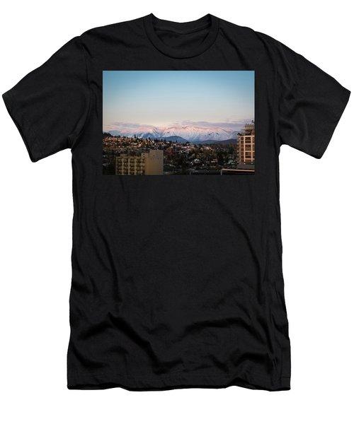Northshore Winterscape Men's T-Shirt (Athletic Fit)