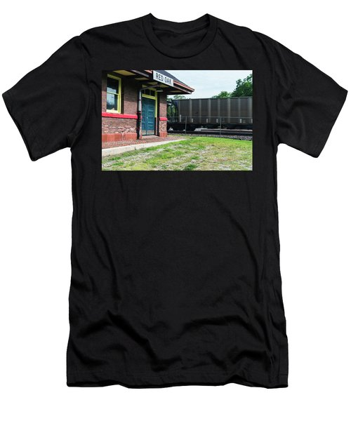 Men's T-Shirt (Athletic Fit) featuring the photograph Not Stopping by Edward Peterson