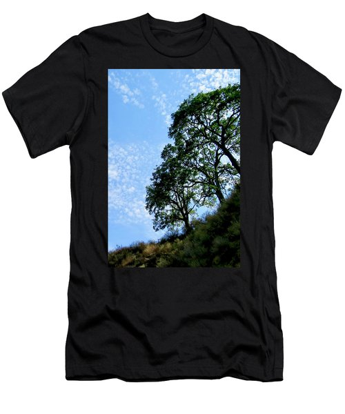 Oaks And Sky Men's T-Shirt (Athletic Fit)