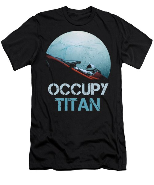 Occupy Titan Men's T-Shirt (Athletic Fit)