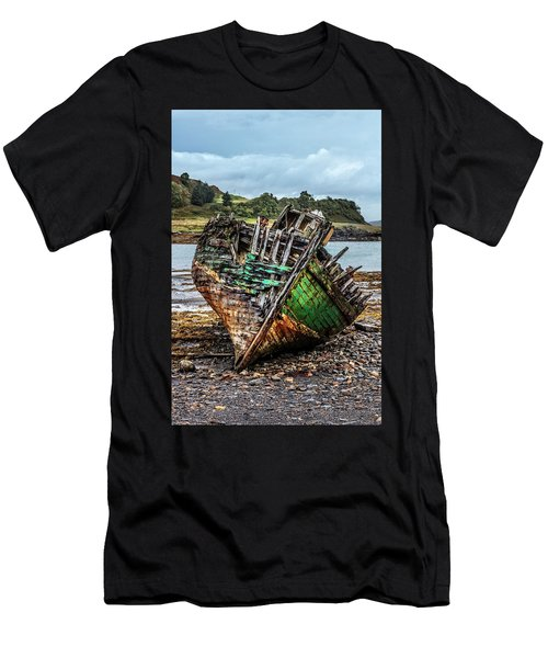 Old Fishing Boat On Kerrera Men's T-Shirt (Athletic Fit)