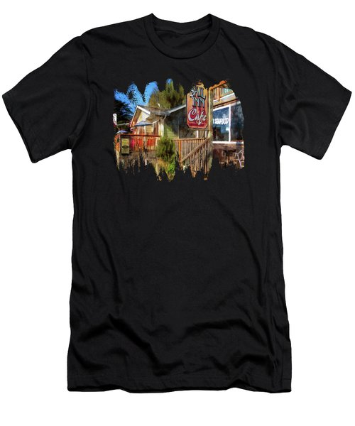 On The Bayfront Men's T-Shirt (Athletic Fit)