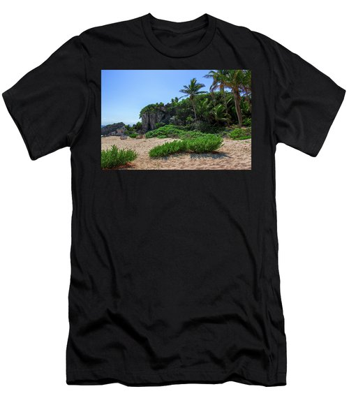 On The Coast Of Tulum Men's T-Shirt (Athletic Fit)