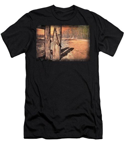 Open Locked Men's T-Shirt (Athletic Fit)