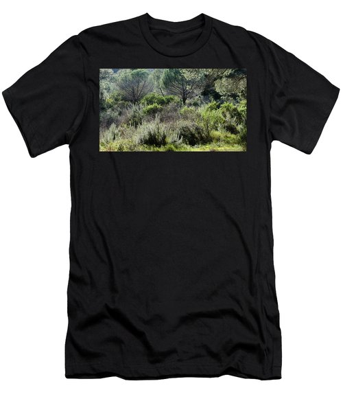 Men's T-Shirt (Athletic Fit) featuring the photograph Open Space by August Timmermans