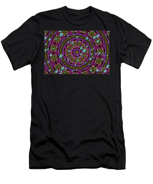Men's T-Shirt (Athletic Fit) featuring the photograph Orbital Alignment by Debbie Stahre