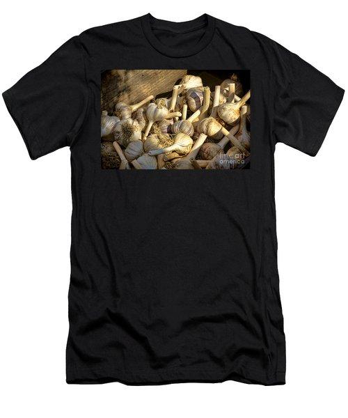 Organic Garlic Men's T-Shirt (Athletic Fit)