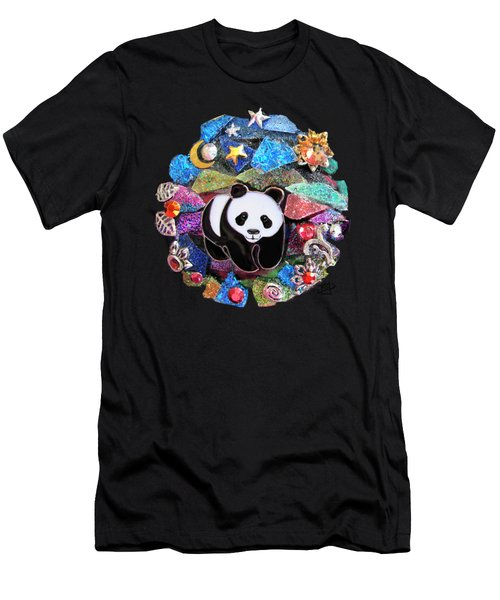 Panda Bear 1 Men's T-Shirt (Athletic Fit)