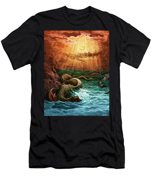 Paradise Lost Creation Of The Fish And Birds Men's T-Shirt (Athletic Fit)